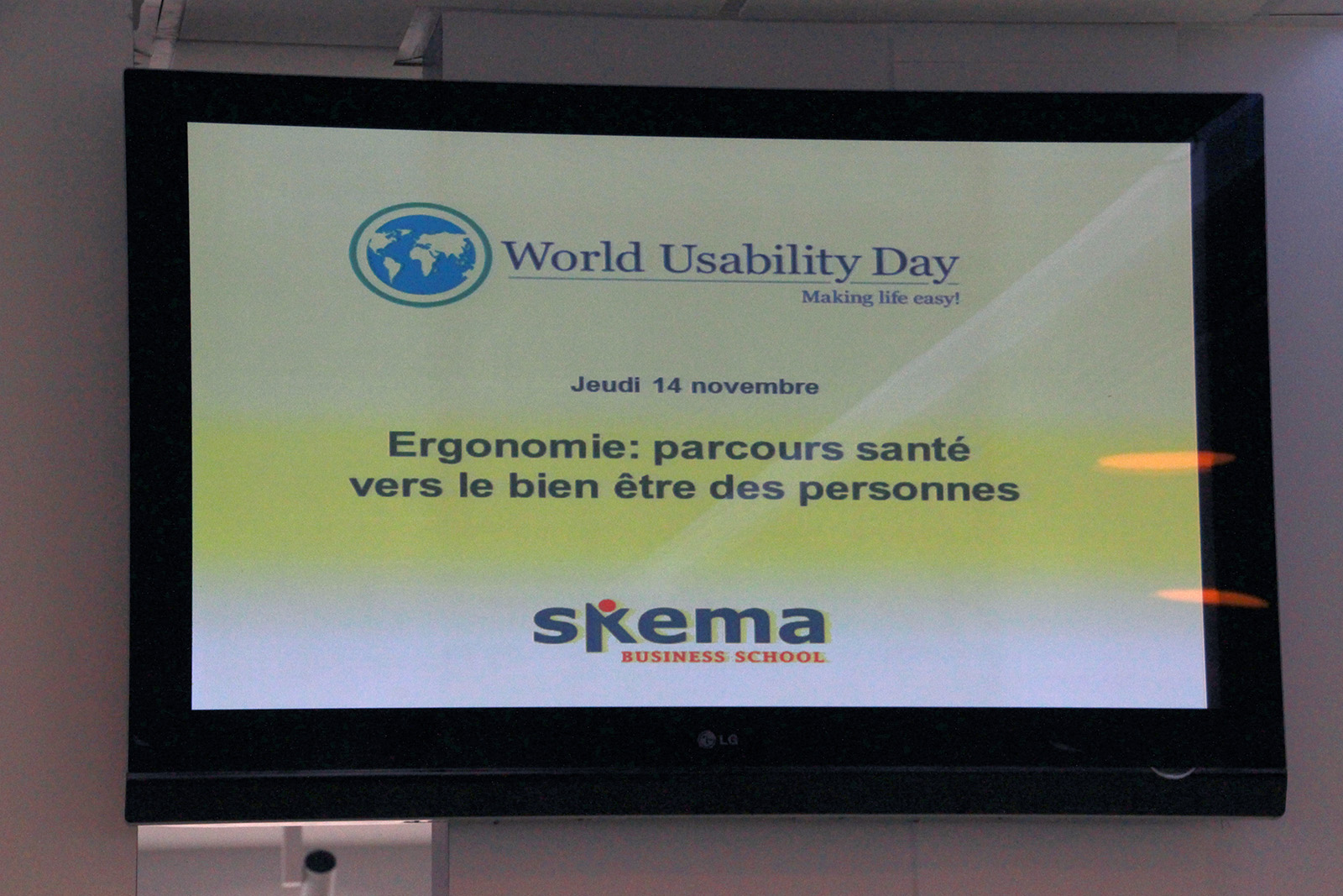 World Usability Day 2014 à Sophia Antipolis