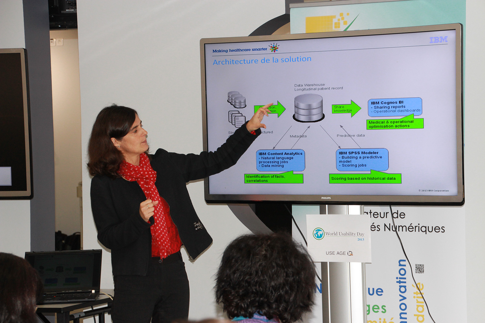 Valérie Leroy : développement d'une solution pour une meilleure compréhension de l'évolution de la Polyarthrite Rhumatoïde