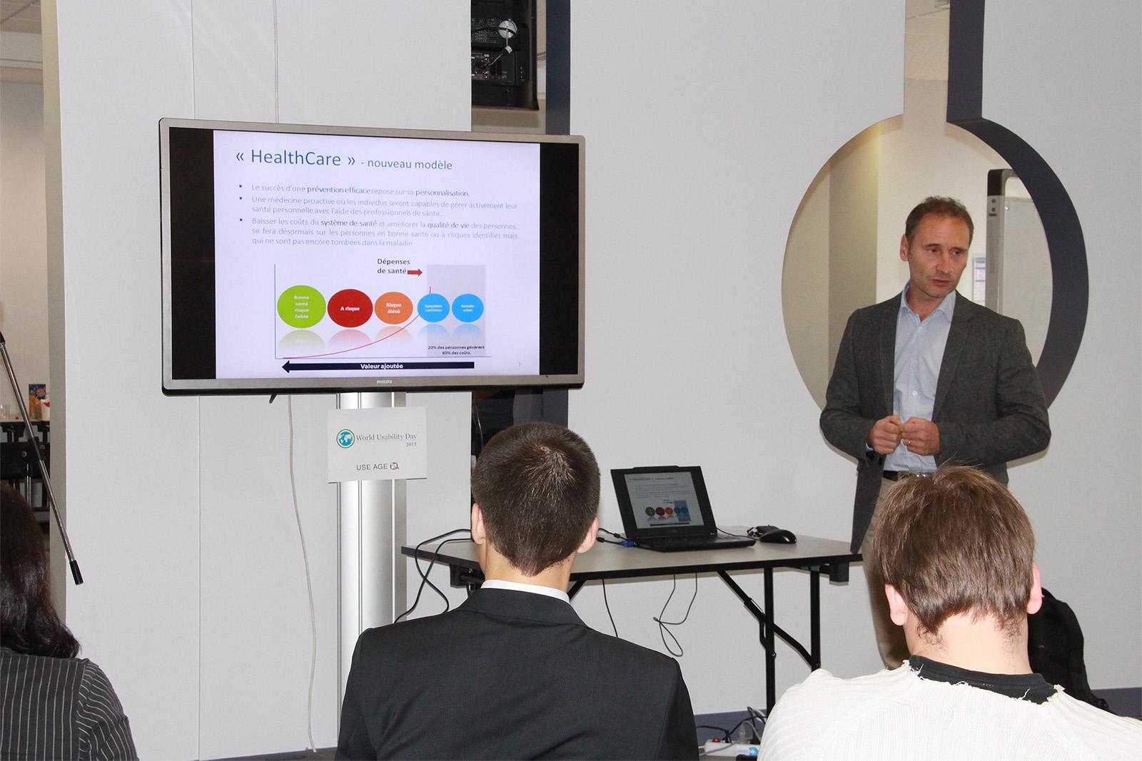 Fabrice Pakin : prévention personnalisée et engagement du patient via une interface ludique