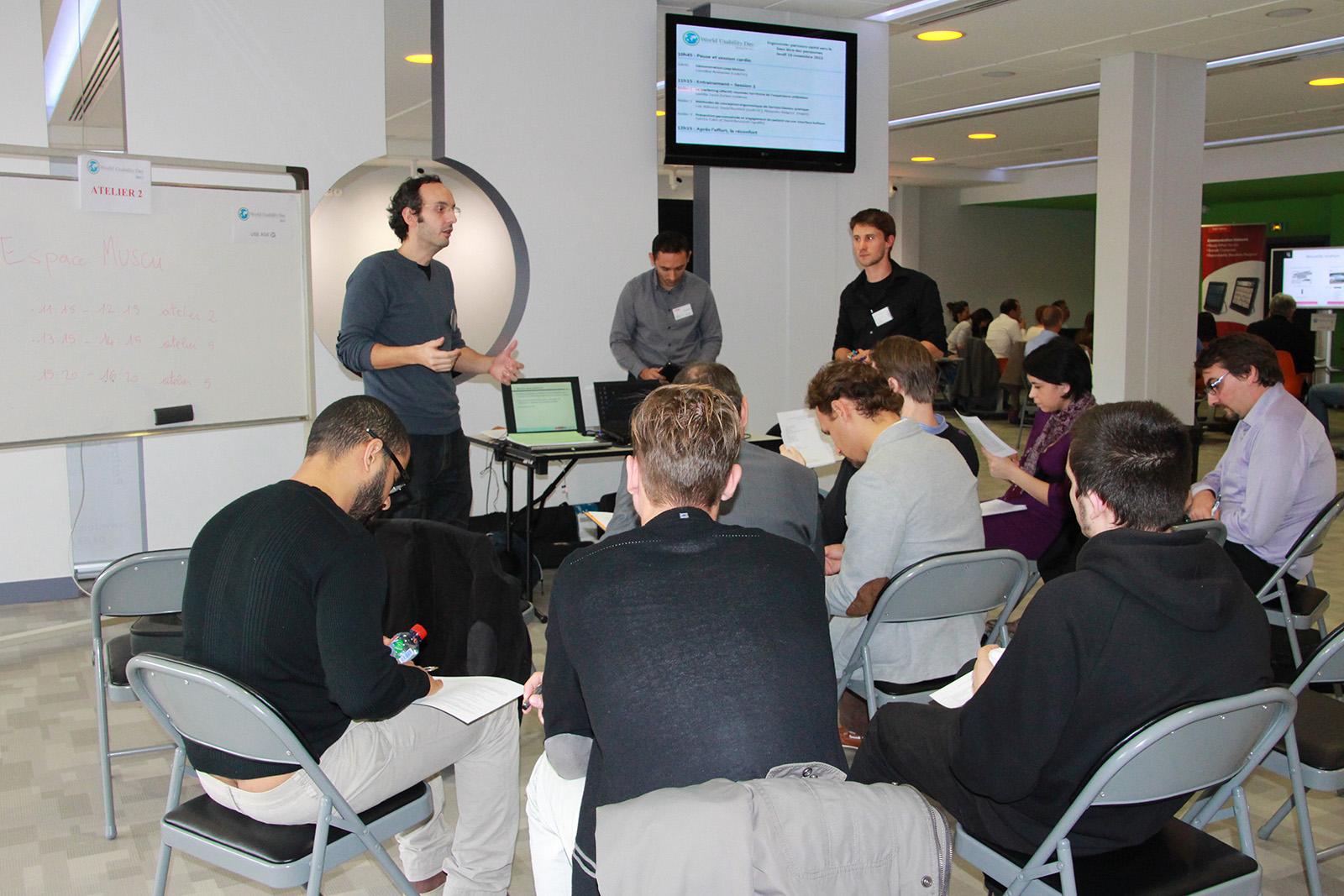 Loic Balouzat, David Buchheit et Alexandre Maignot : méthodes de conception ergonomique de Serious Games