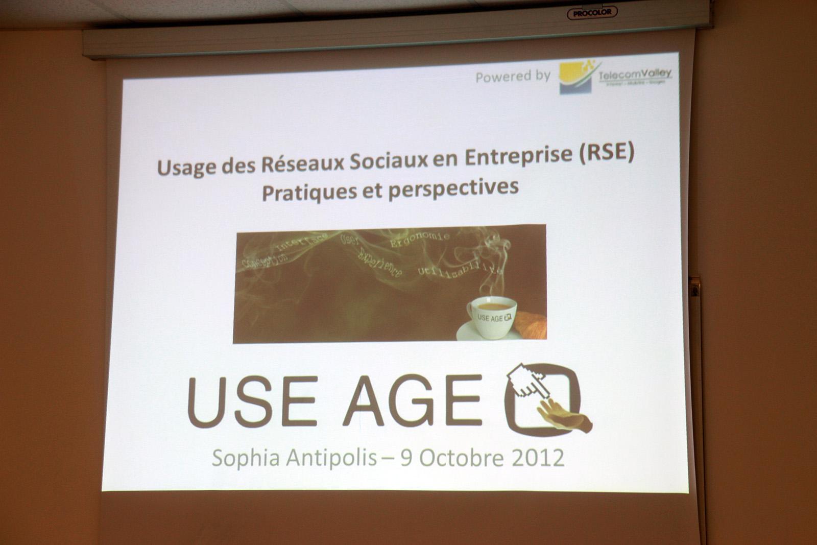 Petit Dej' USE AGE : Usage des RSE