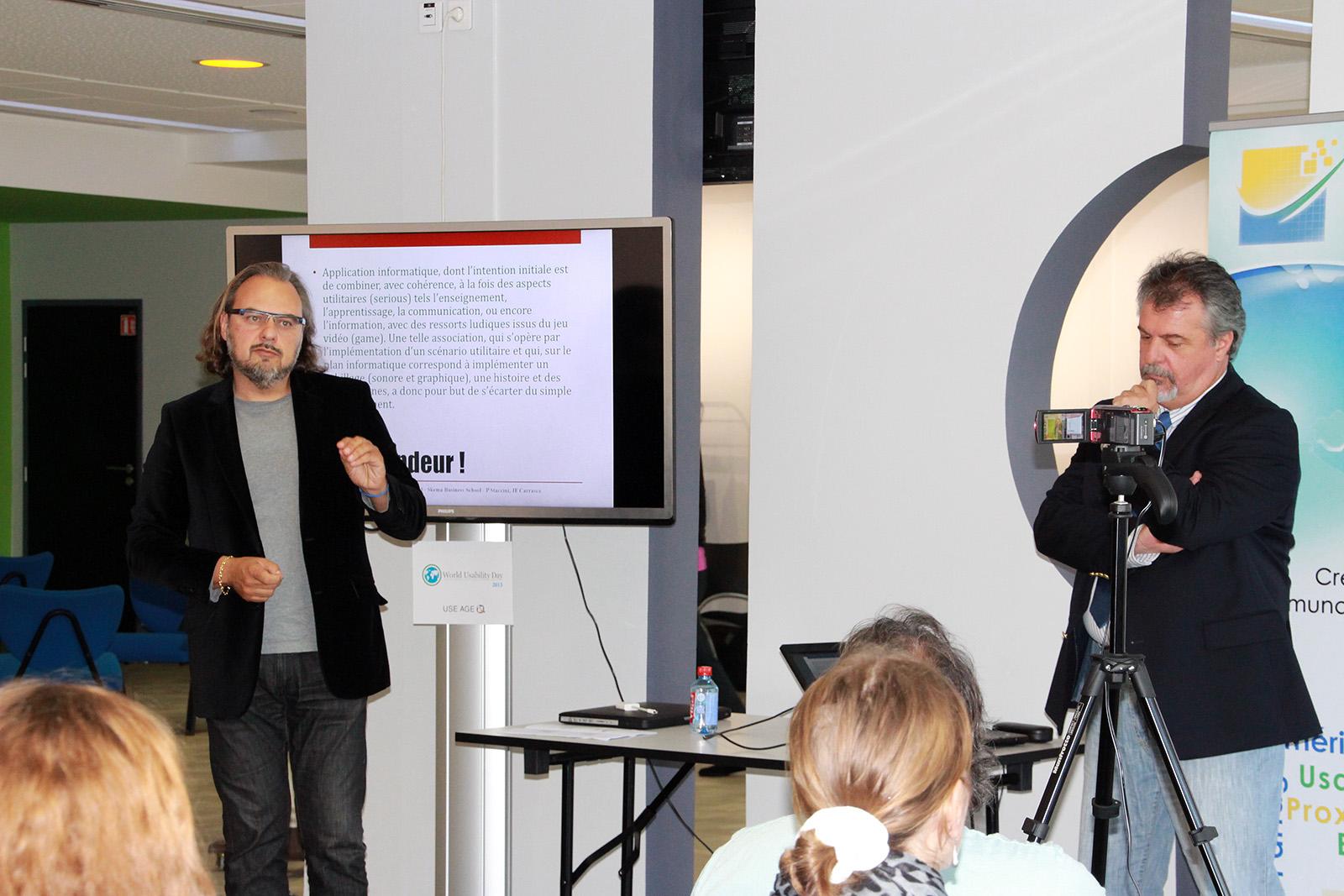 Pascal Staccini et Jean-François Carrasco : les jeux appliqués à la santé