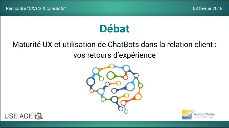 Chatbots et UX/CX